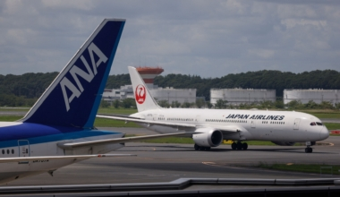 ANA JAL aircraft