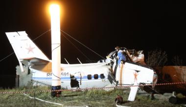 L-410 light aircraft crashes in Tatarstan, Russia