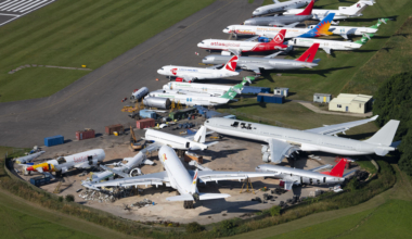 Stored aircraft Cotswold