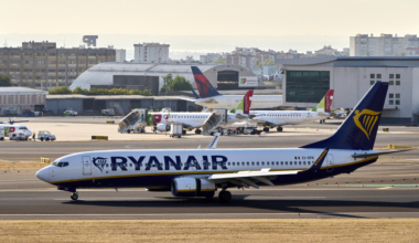 Lisbon International Airport Shows Heavy Traffic As Summer Vacations Period Approaches End