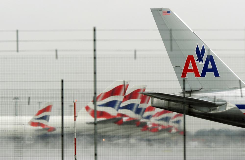American Airlines British Airways Getty