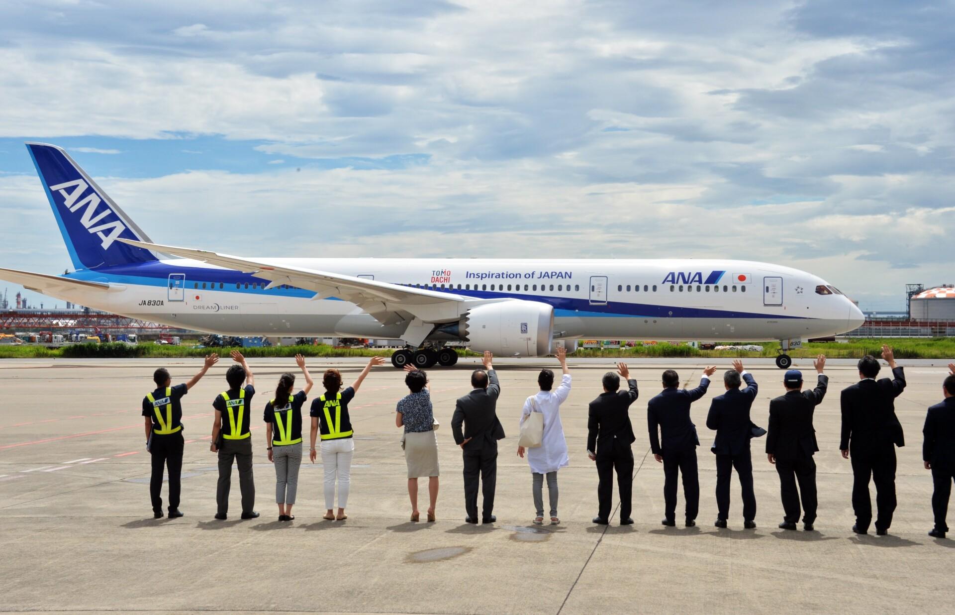 ANA, Boring 787-9, Japan
