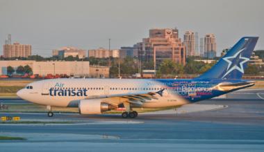 Air Transat Airbus A310 Getty