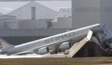 Etihad Airbus A340-600 Getty