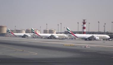 Emirates 777s