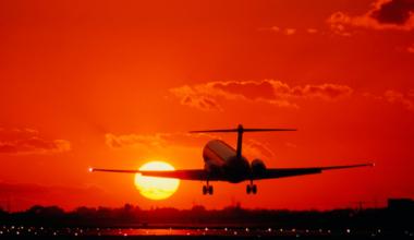 MD-80 Sunset Getty