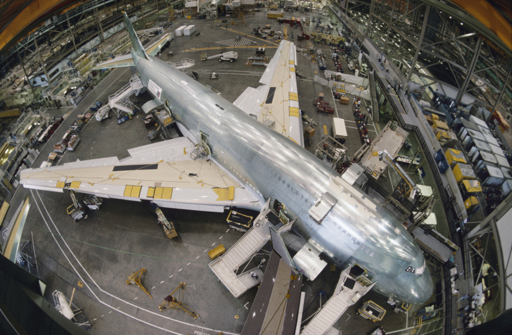 Boeing 747 construction