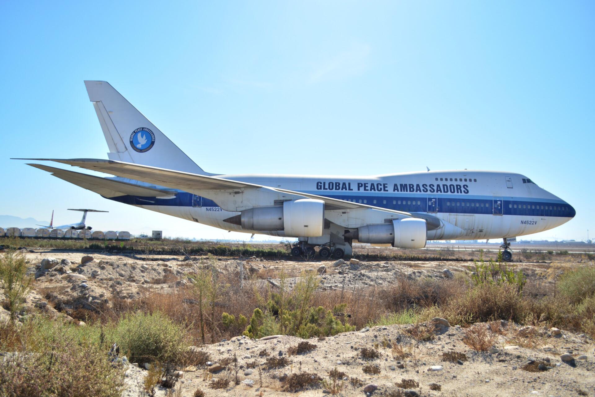 Global Peace Ambassadors 747 TIJ