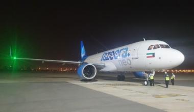 Jazeera new aircraft arrives to Kuwait