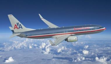 American Airlines Boeing 737-800 ecoDemonstrator