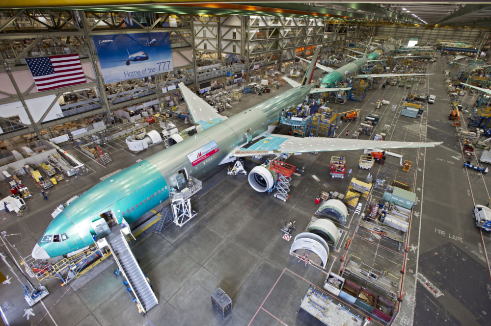 Boeing 777 factory