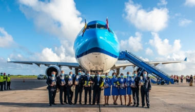 KLM Barbados and Port of Spain