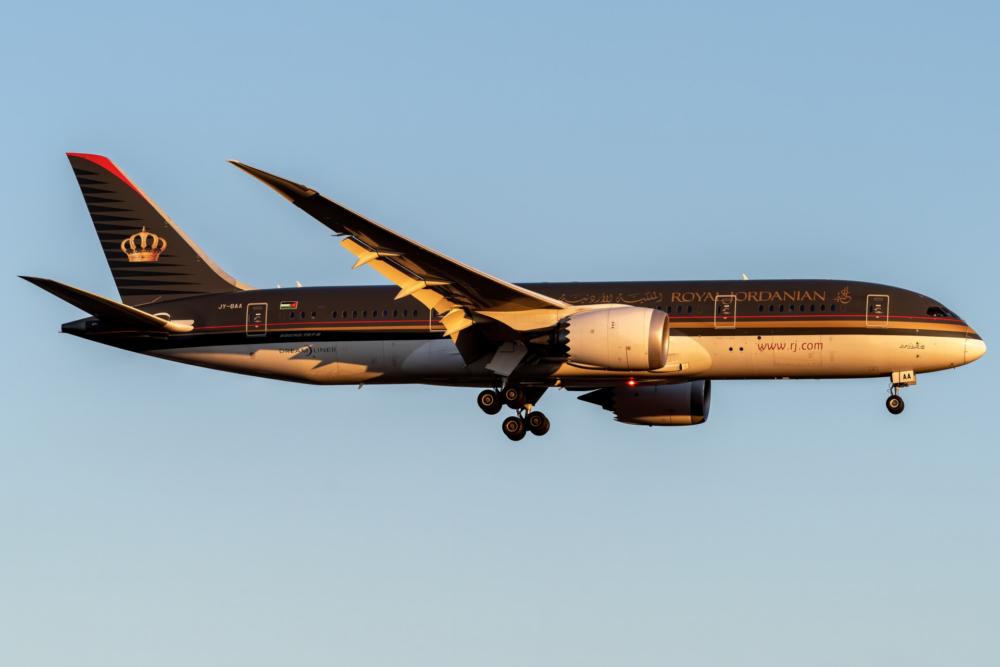 Royal Jordanian Boeing 787