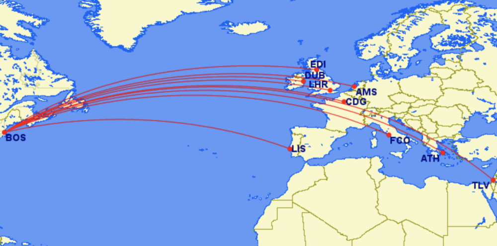 Delta Air Lines Adds Impressive New Routes From Boston