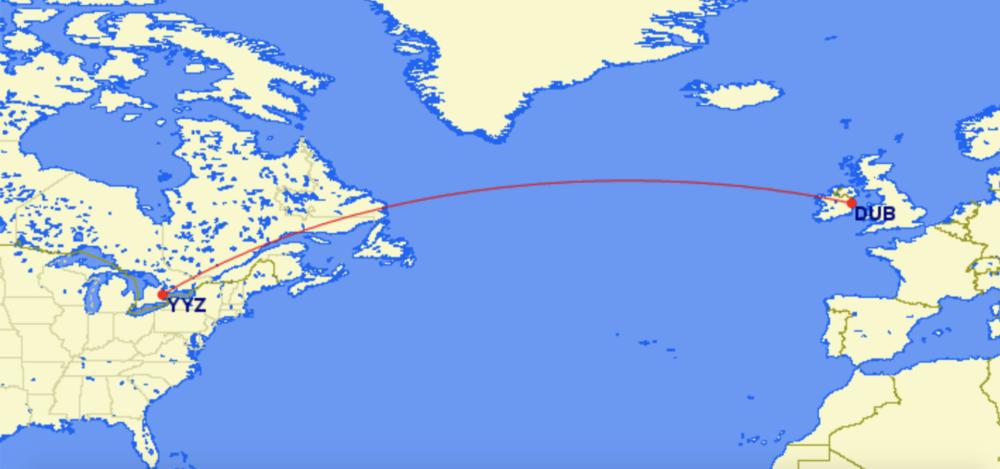 Transatlantic 737 MAX: WestJet Adds Toronto To Dublin Flights
