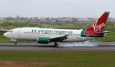 Virgin Nigeria Boeing 737