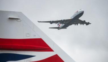 British Airways, Boeing 747, Final Departure