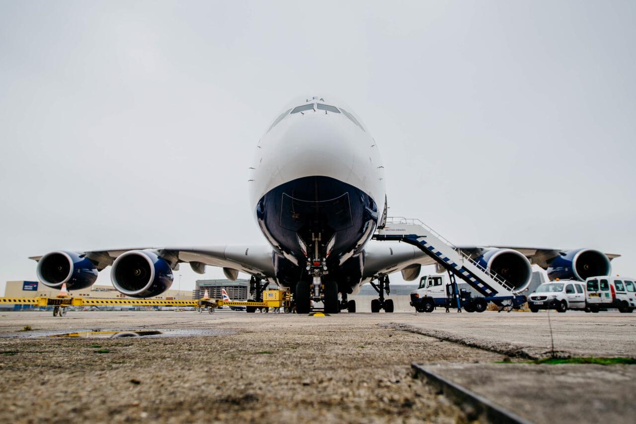 British Airways, Airbus A380, Return To Service