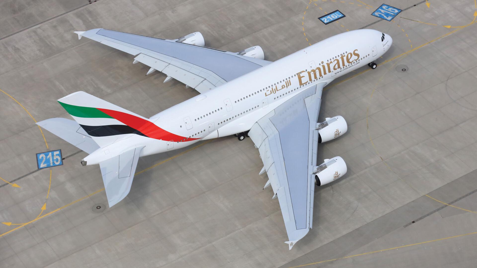Emirates, Airbus A380, Istanbul