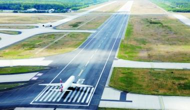 Frankfurt Airport, Wind, Flight Disruption