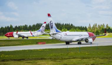 Norwegian Boeing 737s